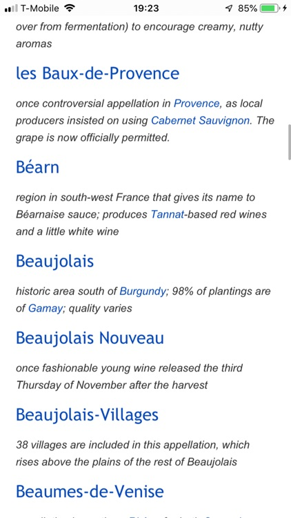 French Wine Terms screenshot-4