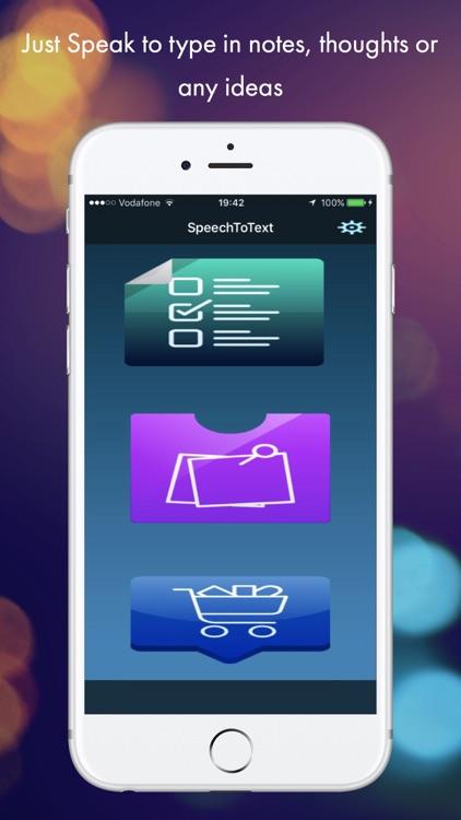 Speech to Text : Voice to Text screenshot-0