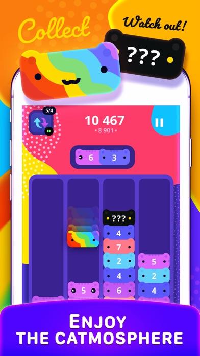 CATRIS - Merge Cat Game på PC