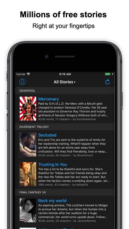 FanFiction Plus screenshot-0