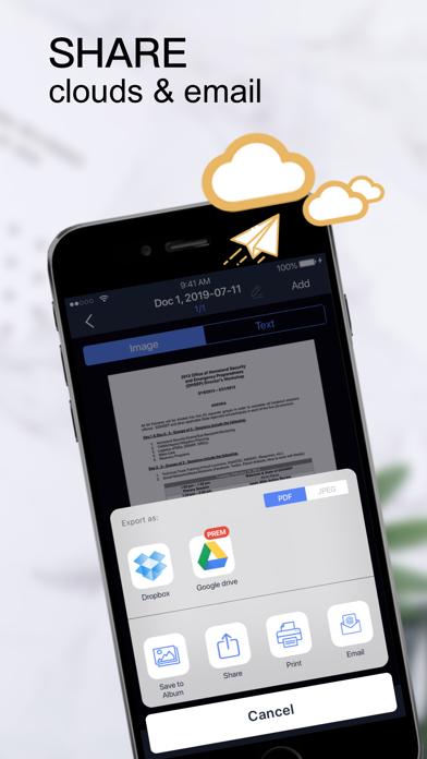 Scanner App:PDF Document Scan+ Screenshot