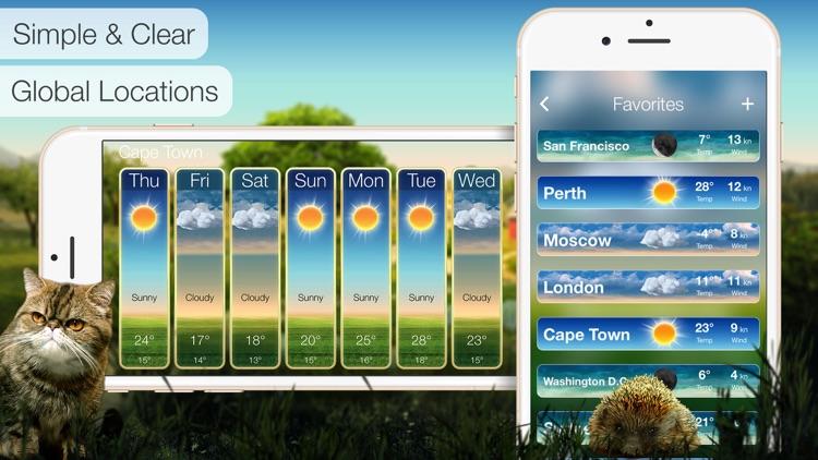 Beautiful Weather & Alerts