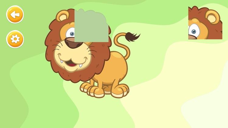 Animal Puzzles Game for Kids screenshot-4