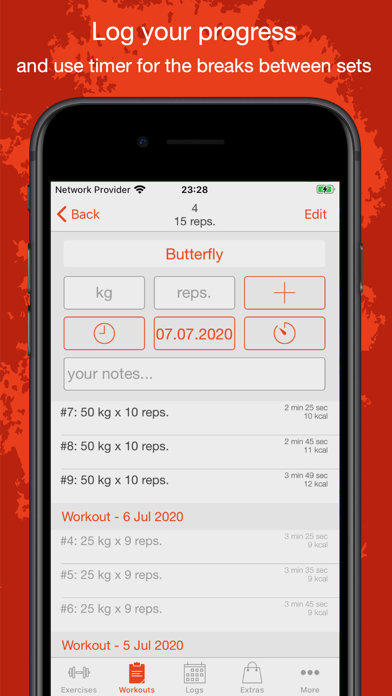 Fitness Point Pro: Home & Gym Screenshots
