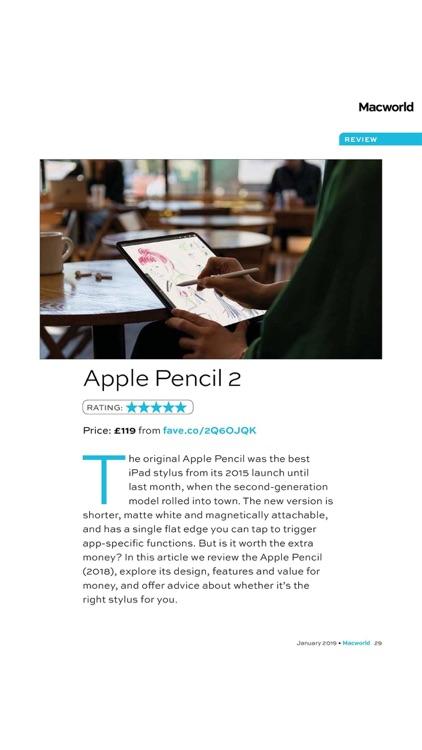 Macworld UK Magazine screenshot-3