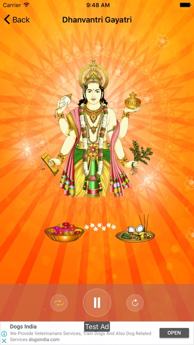 Dhanvantri Pooja and Mantra - App - iOS me