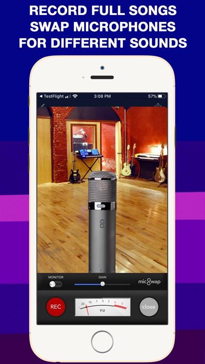 MicSwap MultiTrack Pro: Studio screenshot-0