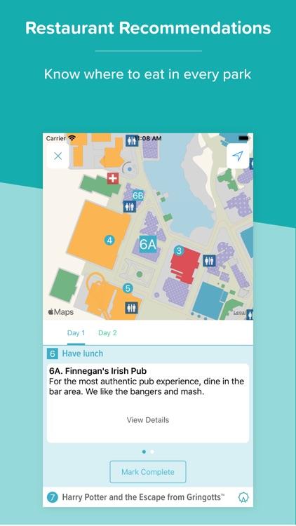 Orlando Theme Park Plans screenshot-4
