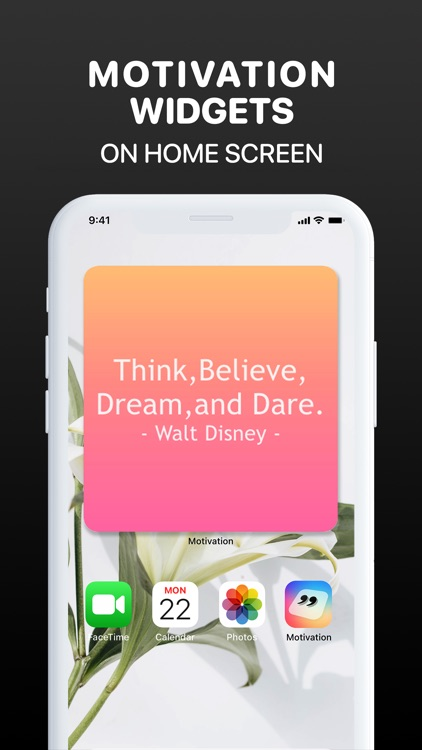 Motivation Widget Daily Quotes screenshot-3