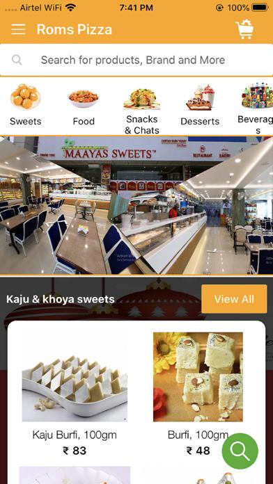 Maayas Sweets screenshot 1