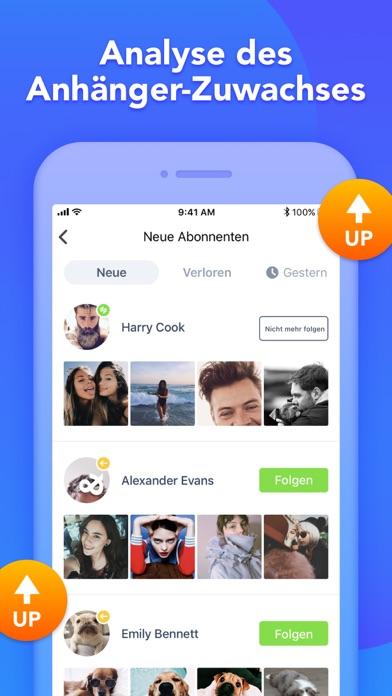 Analyzer Plus-Followers ReportScreenshot von 3