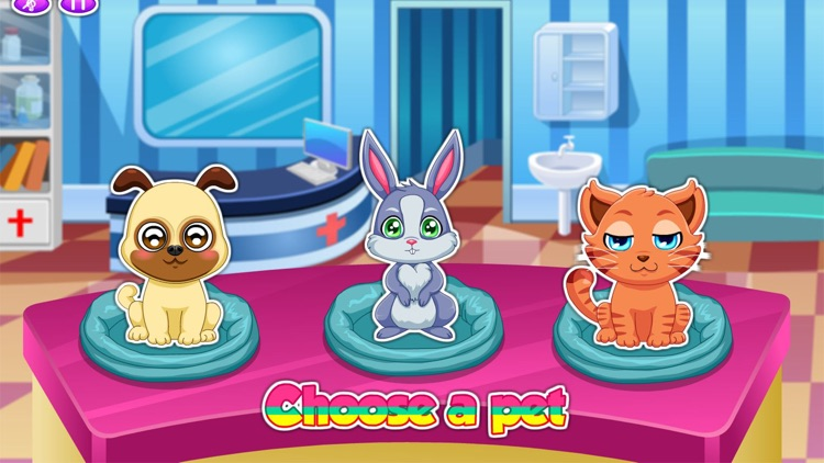 Pet Doctor Animals Caring Game screenshot-1