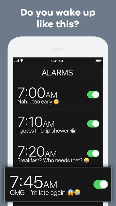 Screenshot #1 pour Kiwake Alarm Clock
