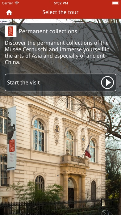 Cernuschi Museum Collection screenshot 2