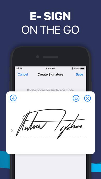 Fill PDF Editor, Signature app Screenshot