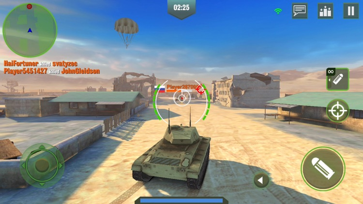 War Machines: Tank Games World screenshot-0