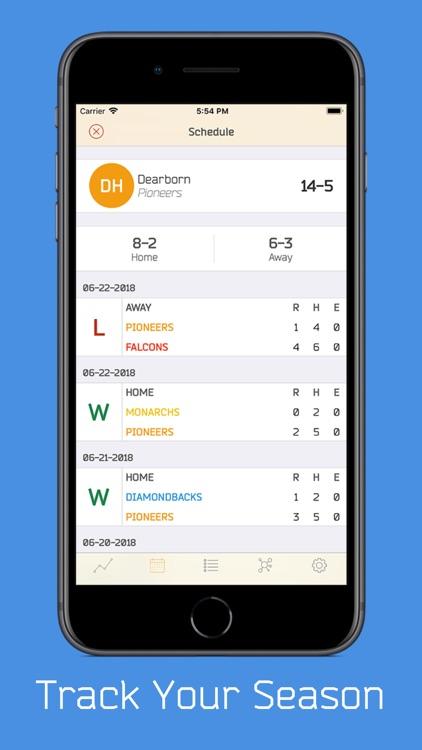 DiamondMetrics Baseball Stats screenshot-3
