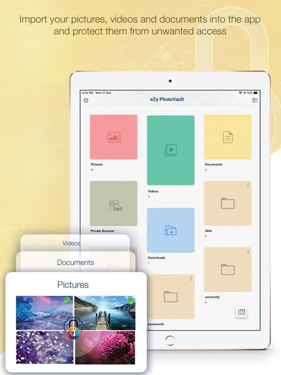 eZy PhotoVault - Keep safe   App Price Drops