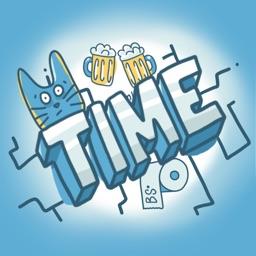 Time - Hangout Plan Stickers