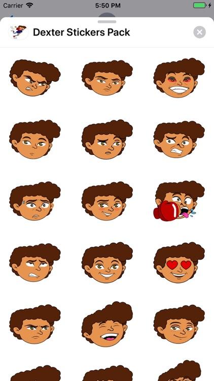 Dexter Stickers Pack