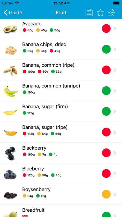 Monash University FODMAP diet Screenshot
