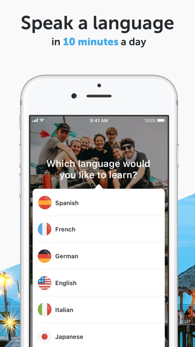 Screenshot for busuu - Language Learning in United States App Store