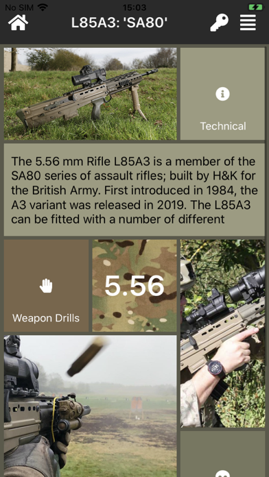 Armoury Screenshot
