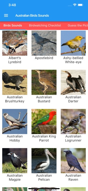 Australian Birds and Sounds on the App Store