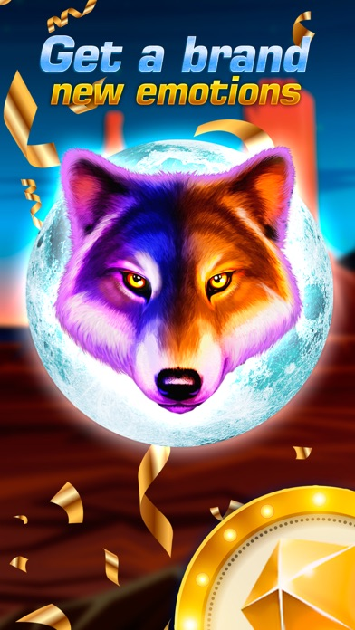Wolf Gold Dream HD