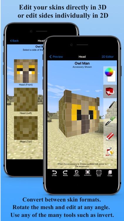 Skin Creator 3D for Minecraft screenshot-3