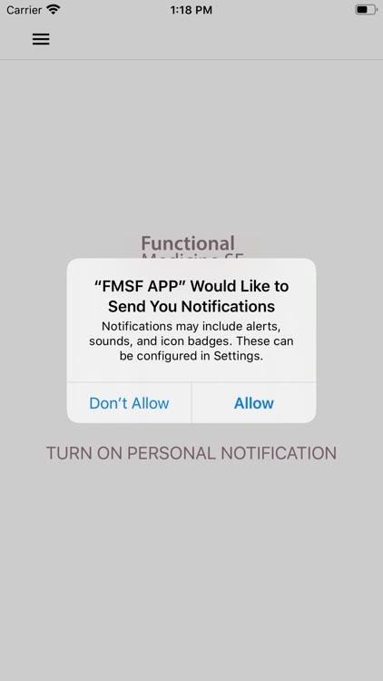 FMSF APP