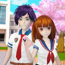 Anime Girl Yandere Life Sim