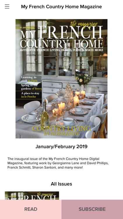 French Country Home Magazine