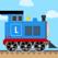 Brick Train Build Game 4 Kids