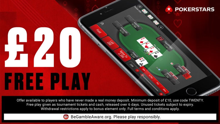 PokerStars Texas Holdem Poker screenshot-5
