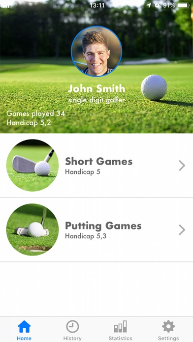 Golf Pro Short Game screenshot #2