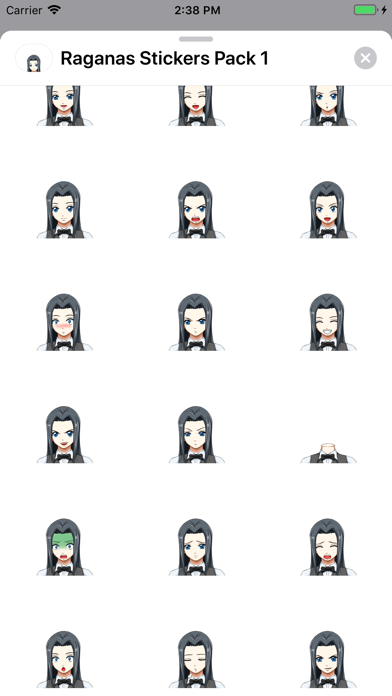 Screenshot for Raganas Stickers Pack 1 in Egypt App Store