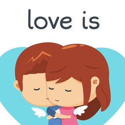 Love is... Romantic Message