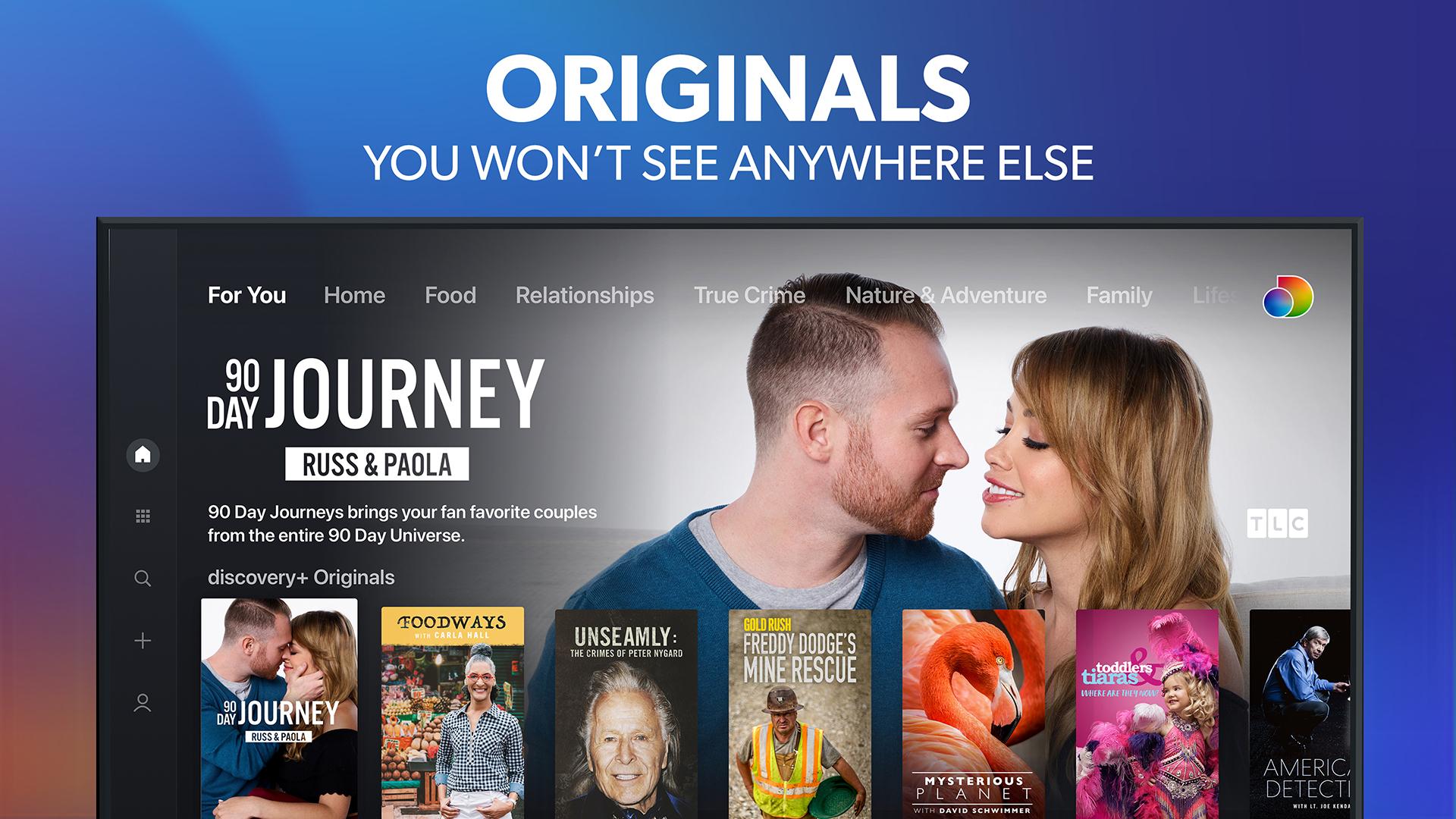 discovery+   Stream TV Shows screenshot 7