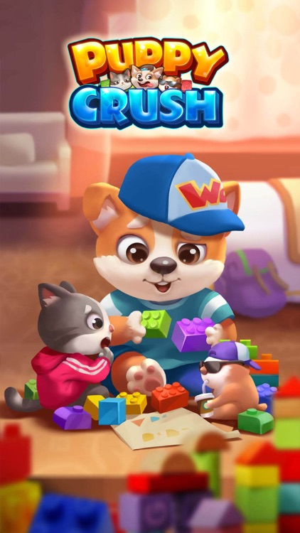 Puppy Crush - Match 3 Puzzle screenshot-0