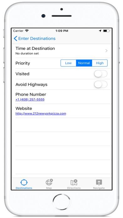 Destinate Screenshots
