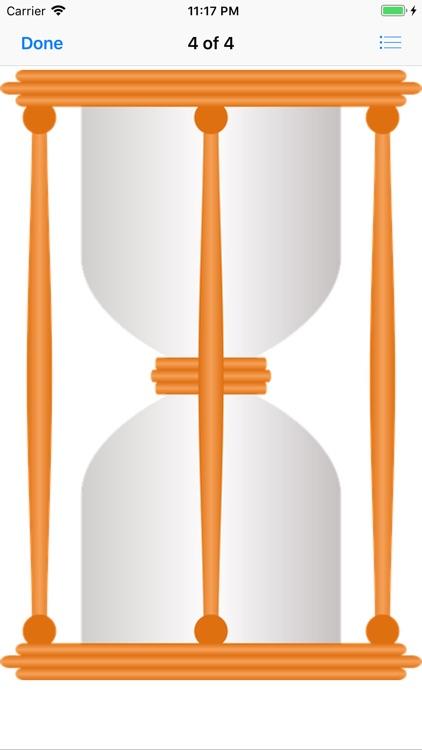 Hourglass Stickers screenshot-6