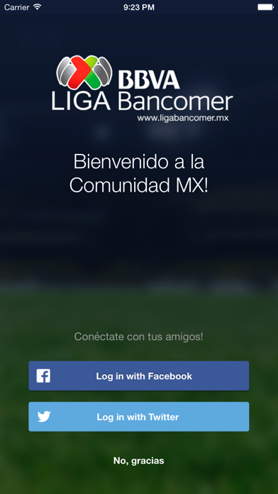 Liga BBVA MX App Oficial screenshot one