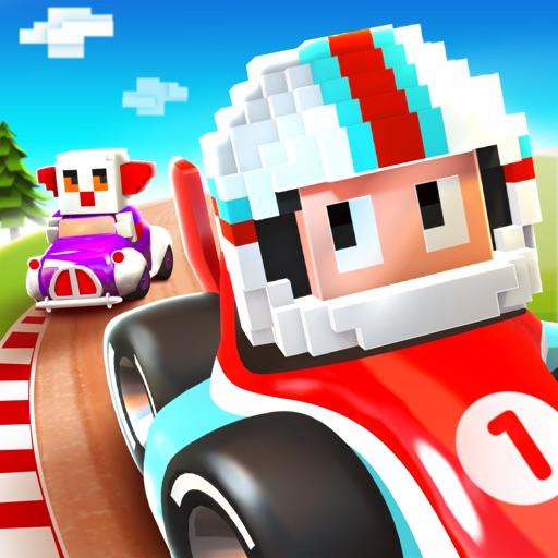 Blocky Racer - Endless Racing