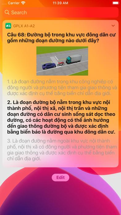 Ôn Thi Bằng Lái Xe Máy A1 - A2 screenshot 5