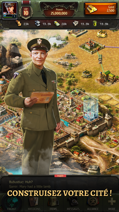 Screenshot #2 pour World at War: WW2 Strategy MMO