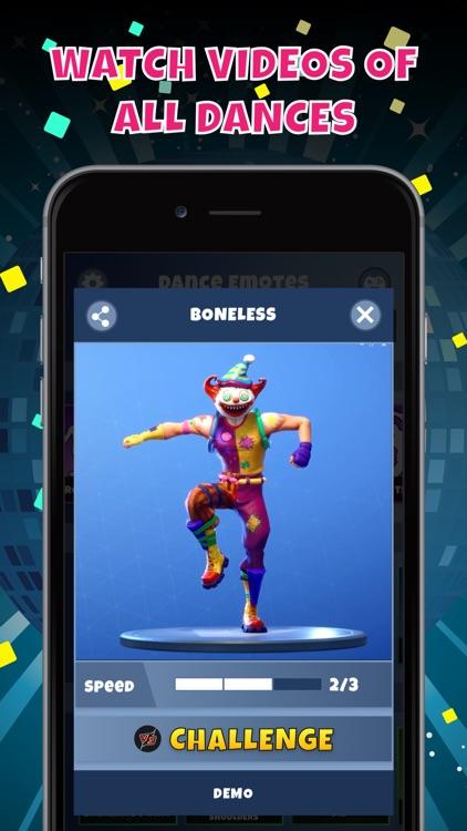 Fort-for-nite Emotes Challenge screenshot-5