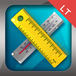 Ícone do app Unit Converter HD.