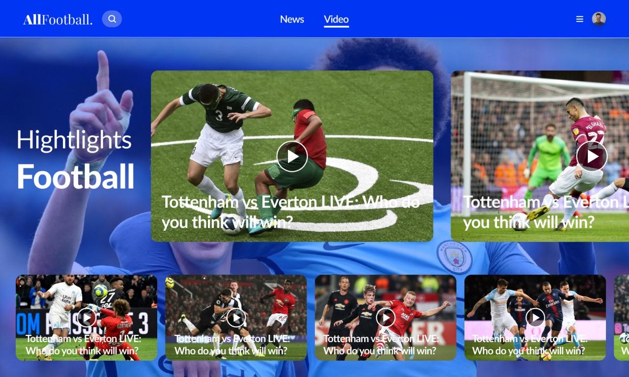 OneFootBall Soccer News Score