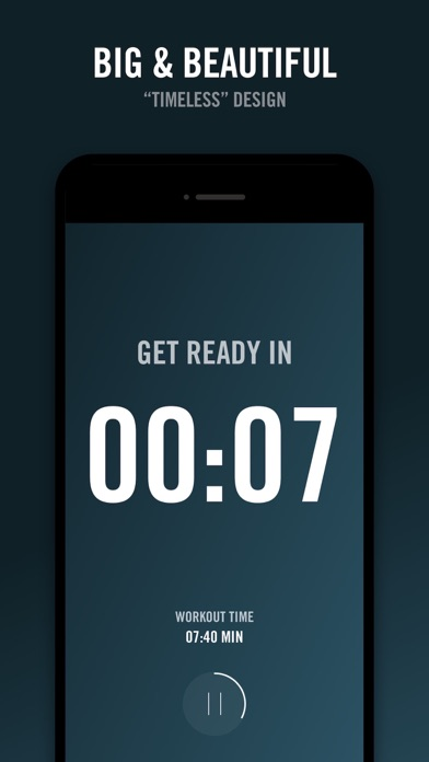 Screenshot for Reps - Workout Timer in Korea App Store